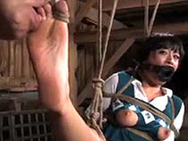 Nyssa Nevers tied up and tortured